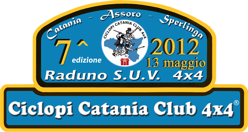 Ciclopi Catania Club 4x4 - 7° Raduno SUV - 13 maggio 2012 ...