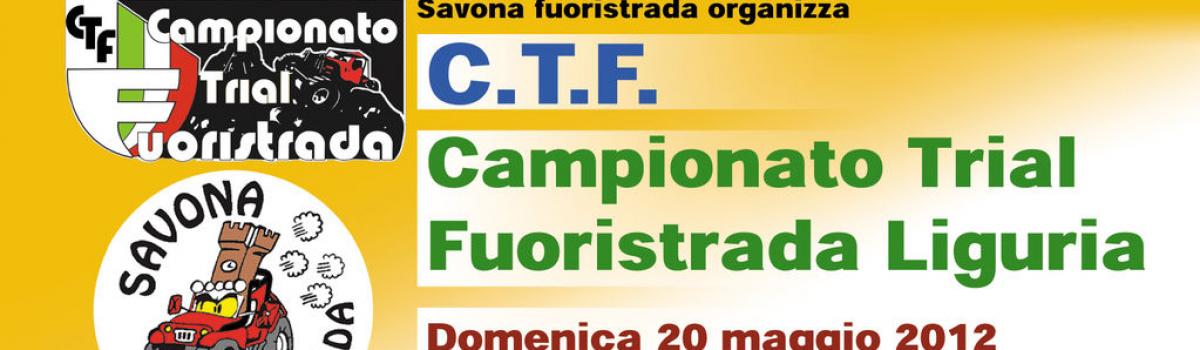 1ª prova Trofeo CTF LIGURIA – 20 maggio 2012 – Torria (IM)