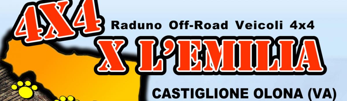 4 Zampe Off-Road – 4X4 X l' EMILIA – 22/23 settembre 2012