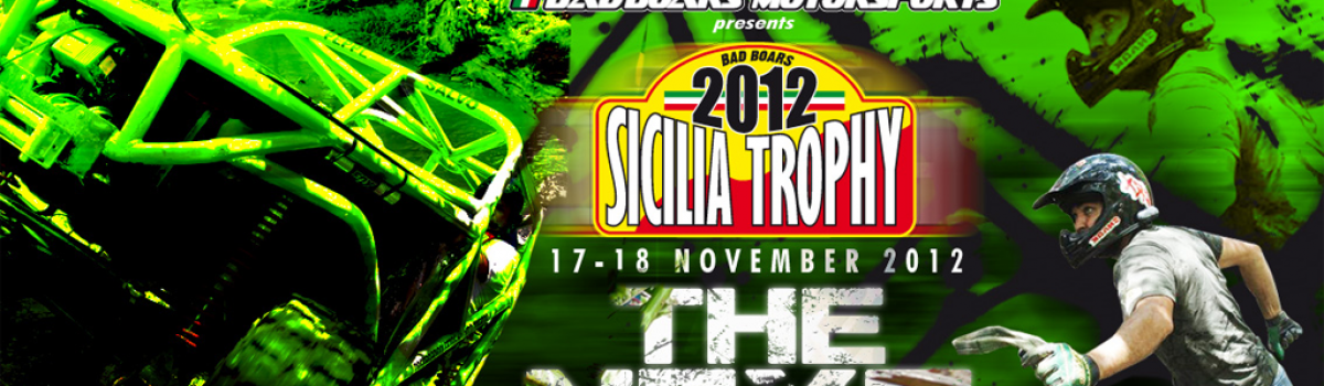 A.S. D. Bad Boars – Sicilia Trophy 4×4 – 17/18 Novembre 2012