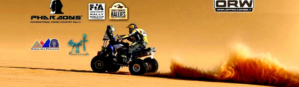 Pharaons Cross Country Rally 10-17 Maggio 2015