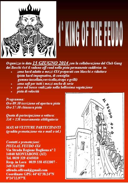 RADUNO 1° KING OF THE FEUDO