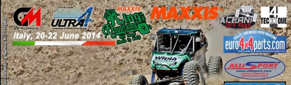 King of the Mountains – dal 20 al 22 giugno 2014