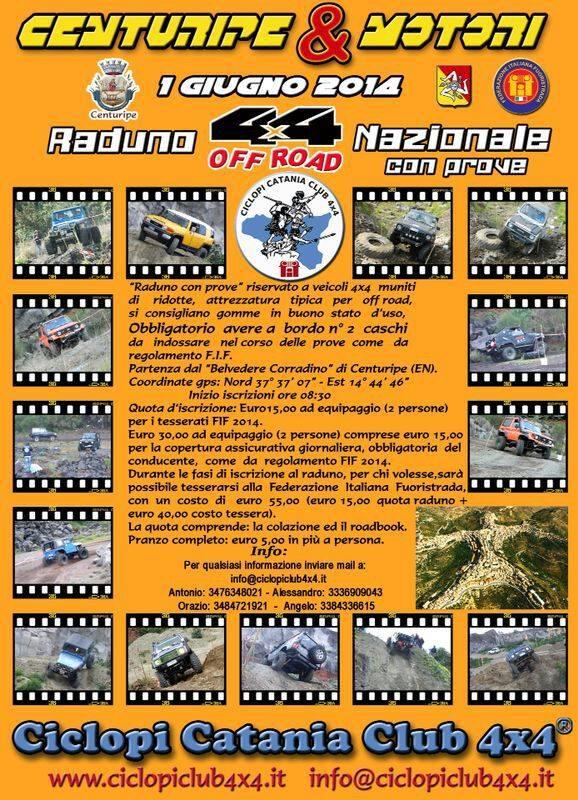 raduno ciclopi giugno 2014