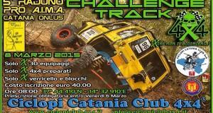 Ciclopi Catania Club 4×4 – CHALLENGE TRACK 4X4 – 8 Marzo 2015 – 5° Raduno Nazionale F.I.F. Pro A.I.M.A. Catania Onlus