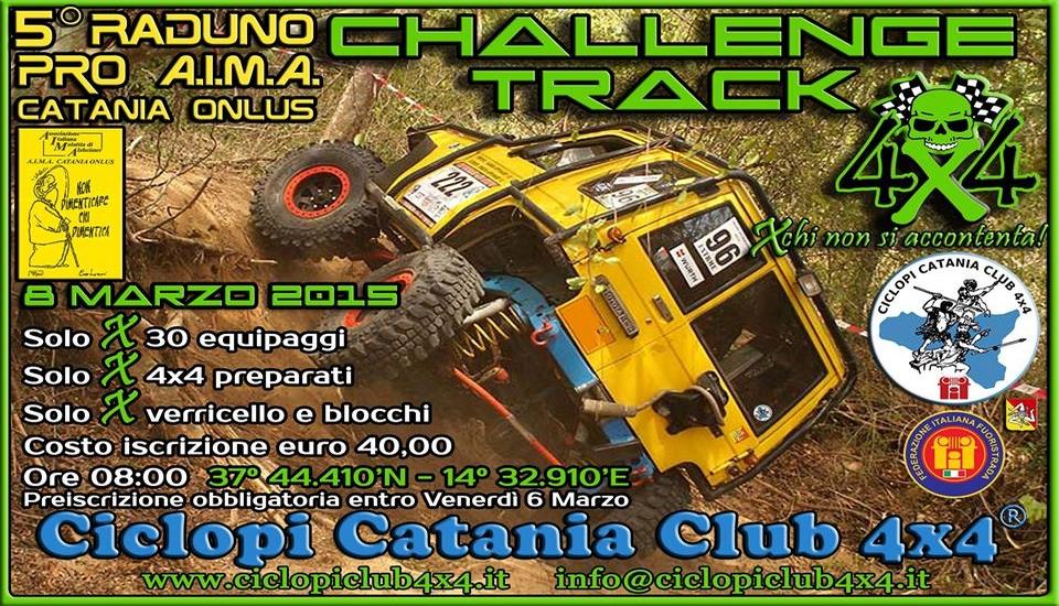 Ciclopi Catania Club 4x4 - CHALLENGE TRACK 4X4 - 8 Marzo ...