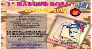 """1° Raduno Rosa F.I.F. """"Club Nazionale Fuoristrada"""" 22 Marzo 2015"""