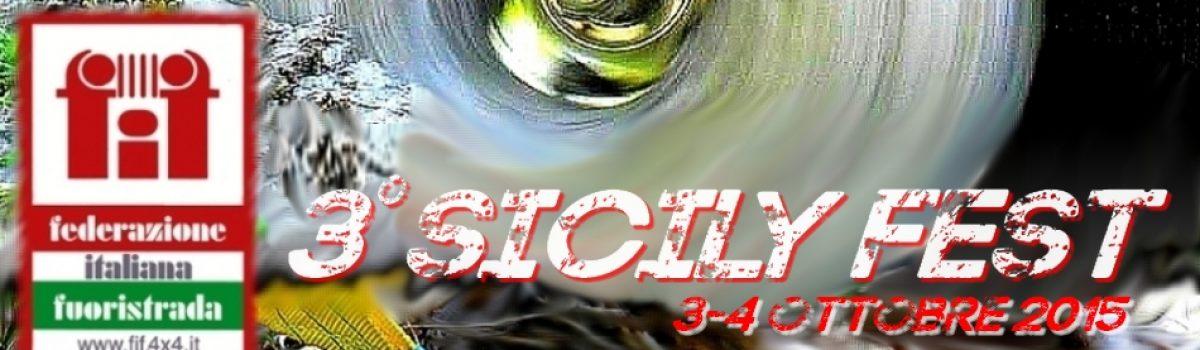 3° Sicily Fest 4×4 Evento F.I.F.