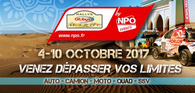 OiLibya Rally del Marocco 2017 – 04-10 OTTOBRE 2017