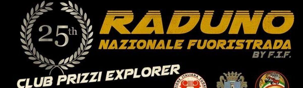 25° Raduno Nazionale Fuoristrada Prizzi Explorer